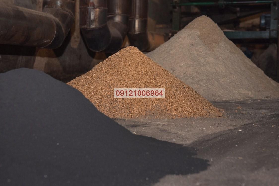 مواد اولیه تولید زغال فشرده