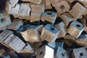 خط تولید زغال فشرده در کلاردشت
