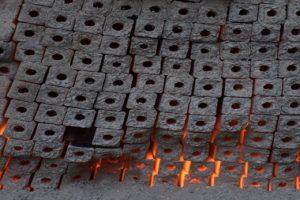 خط تولید زغال فشرده در ملکشاهی